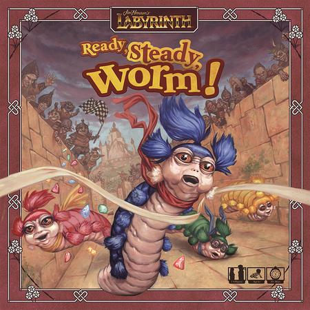 RESTOCK PREORDER - Jim Henson's Labyrinth: Ready, Steady, Worm!