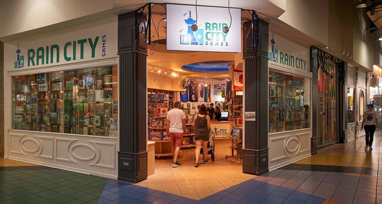 Rain City Games // Downtown Vancouver's friendliest board game store!