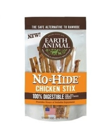 Earth Animal No-Hide Chicken Stix, 10 pack