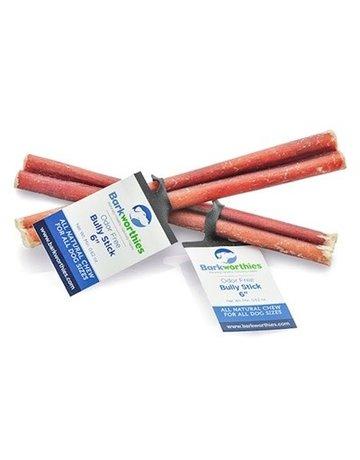 "Barkworthies Bully Stick 6"" - odor free"