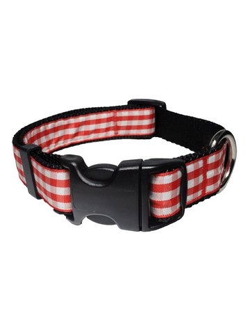 Paw Paws USA Gingham - Red
