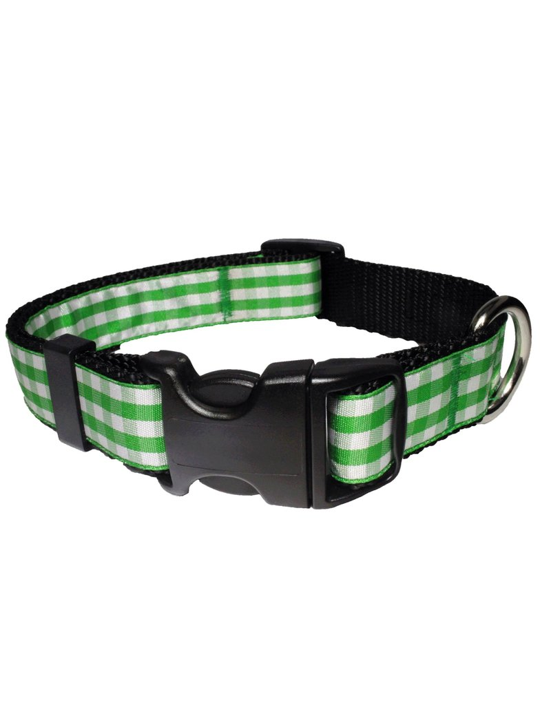 Paw Paws USA Gingham - Green