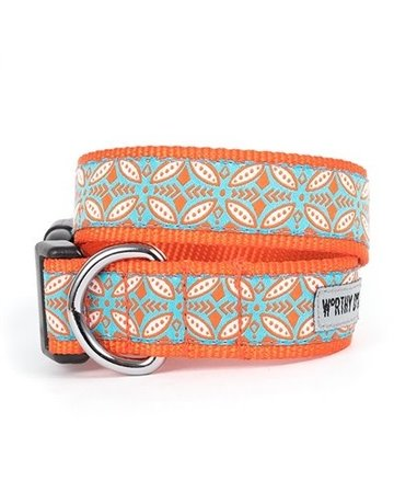 The Worthy Dog Stamp Print Coral