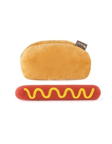 P.L.A.Y. Hot Dog plush