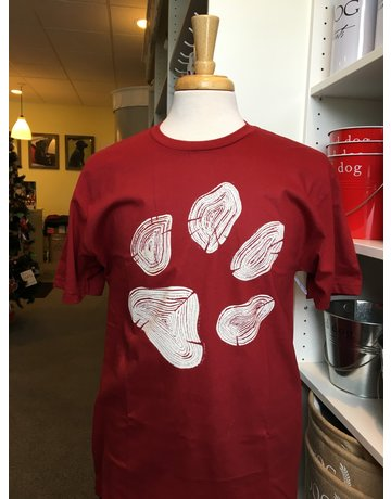 I Love Dogs Dogwood Paw t-shirt