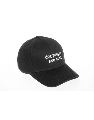 Dog People are Cool Dog People are Cool black baseball cap