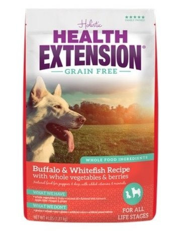 Health Extension Health Extension Grain-Free Buffalo & Whitefish (pickup or delivery only)