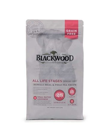 Blackwood Blackwood Grain Free Buffalo & Pea (pickup or delivery only)
