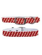 C4 Belts Bones Red collar