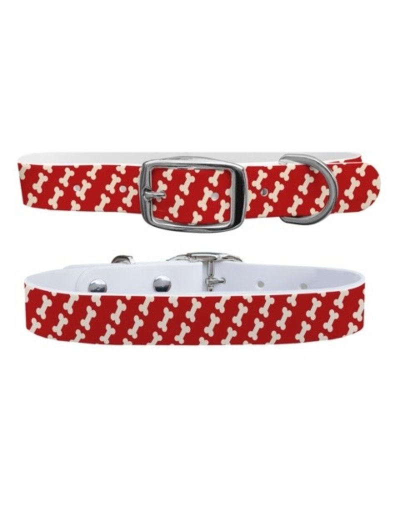 C4 Belts C4 Bones Red collar