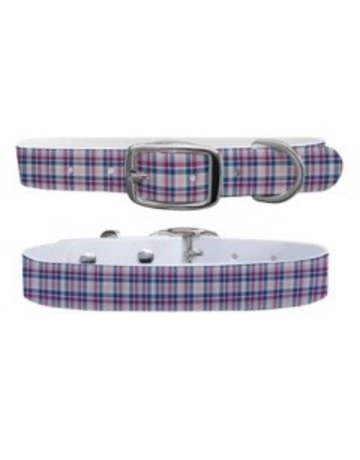 C4 Belts Spring Plaid collar