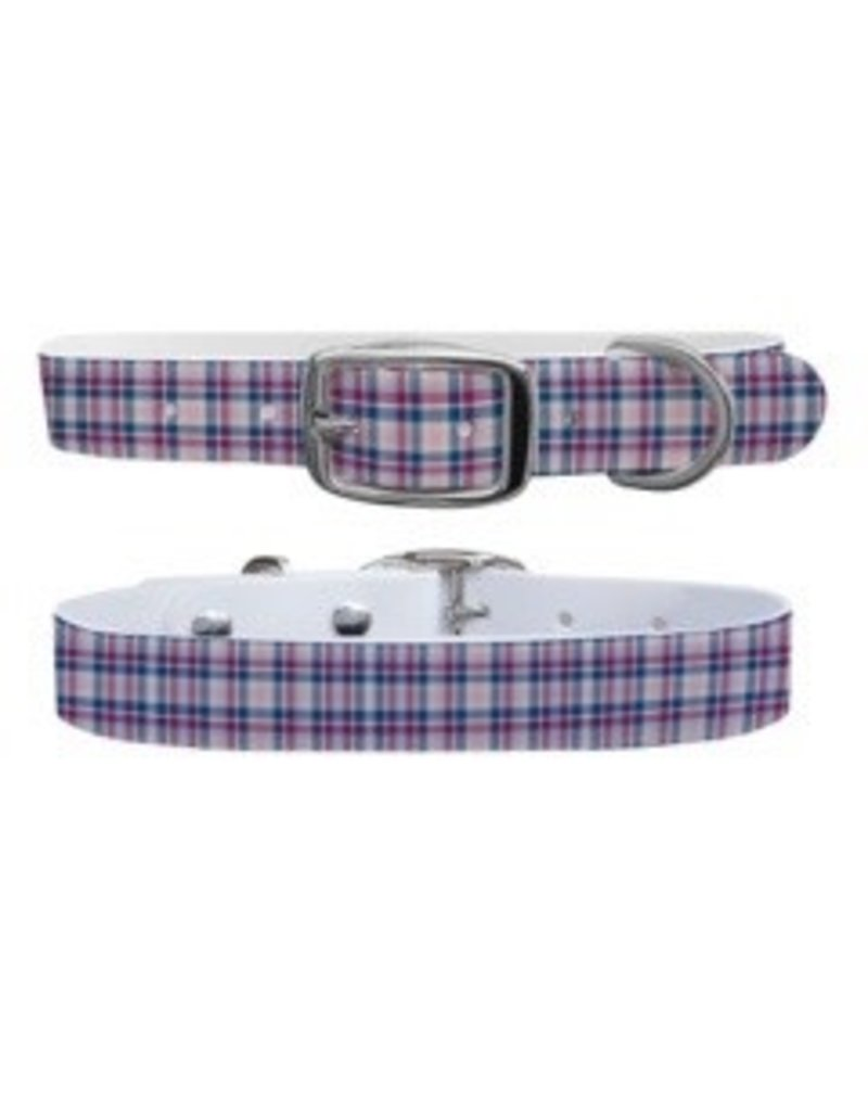 C4 Belts C4 Spring Plaid collar