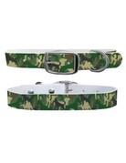 C4 Belts Green Dog Camo collar