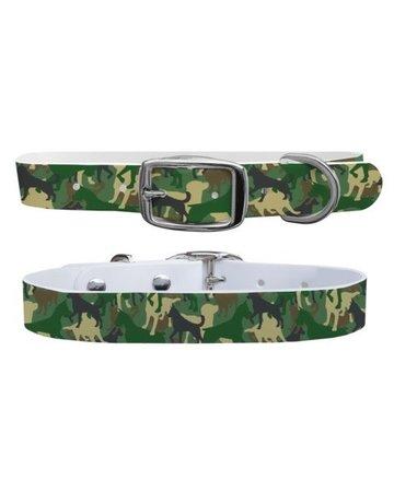 C4 Belts C4 Green Dog Camo collar