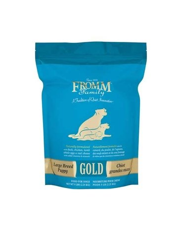 Fromm Fromm - dry Gold Large Breed Puppy 33# (pickup or delivery only)