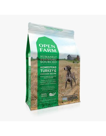 Open Farm Open Farm Homestead Turkey & Chicken dry (pickup or delivery only)