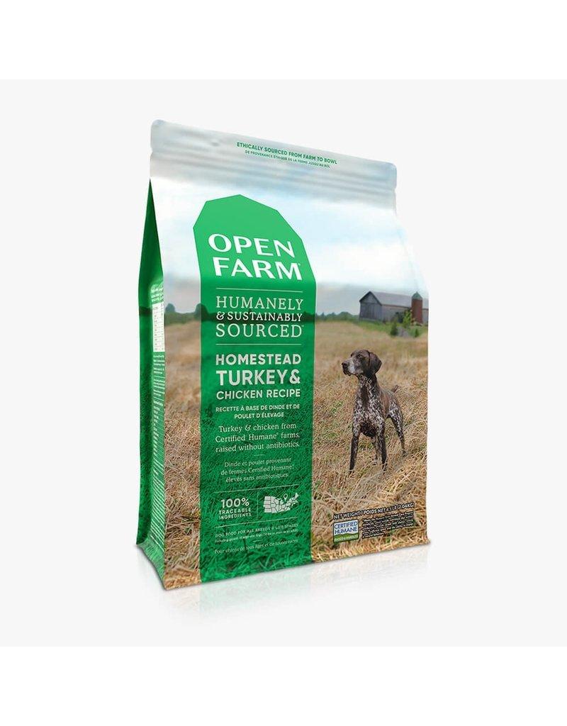 Open Farm Open Farm Homestead Turkey & Chicken dry