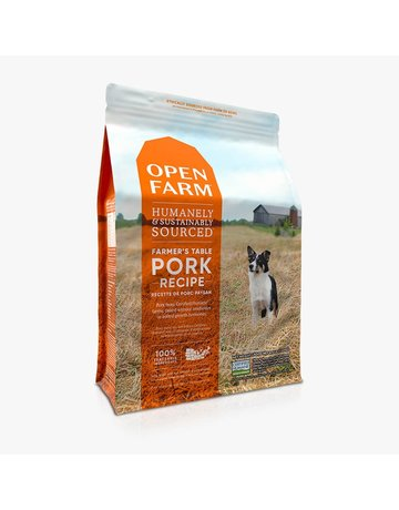 Open Farm Open Farm Farmer's Table Pork & Root Vegetables dry (pickup or delivery only)