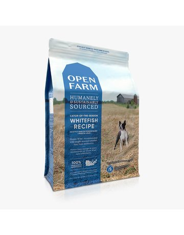 Open Farm Open Farm Catch-of-the-Season Whitefish & Green Lentil dry (pickup or delivery only)