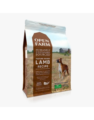 Open Farm Open Farm Pasture Raised Lamb dry (pickup or delivery only)