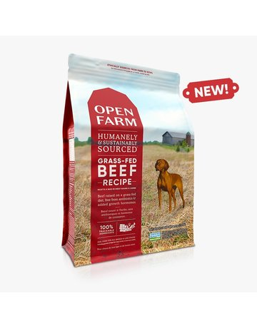 Open Farm Open Farm Grass-Fed Beef dry (pickup or delivery only)