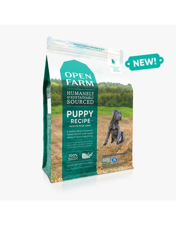 Open Farm Open Farm Puppy Recipe dry (pickup or delivery only)