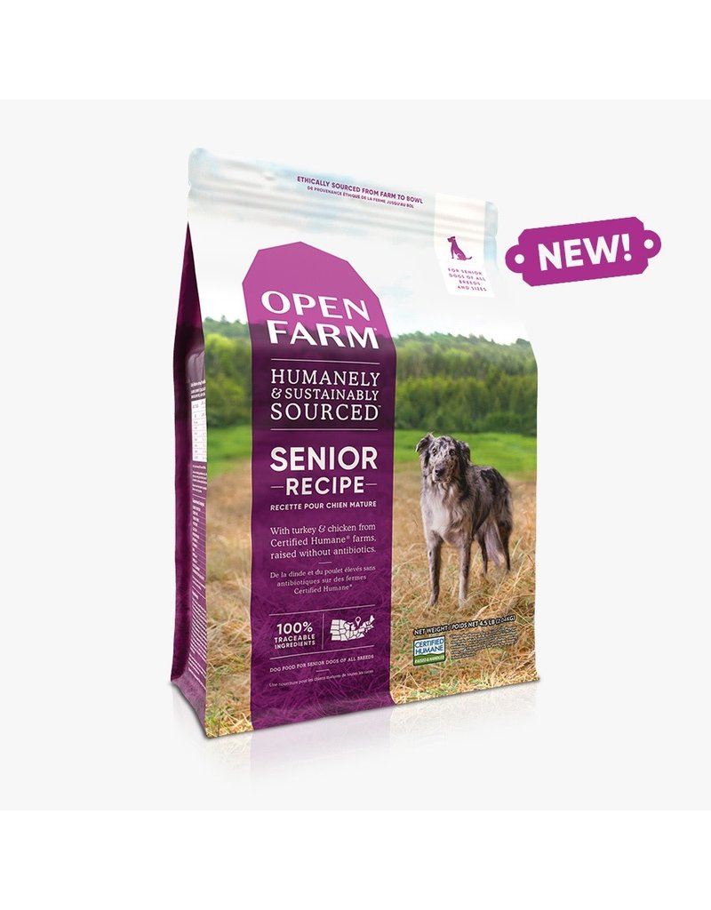 Open Farm Open Farm Senior Recipe dry