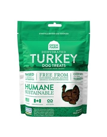 Open Farm Open Farm Turkey dehydrated treats 2.25oz