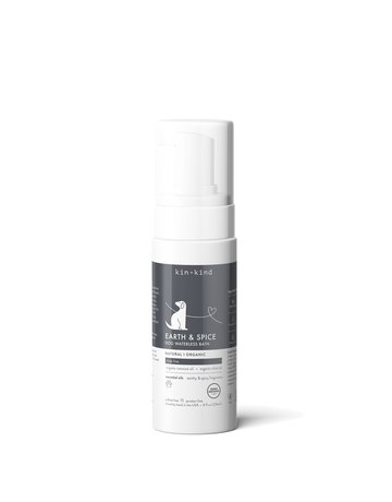 Kin+Kind kin+kind Waterless Foaming Shampoo - Earth & Spice