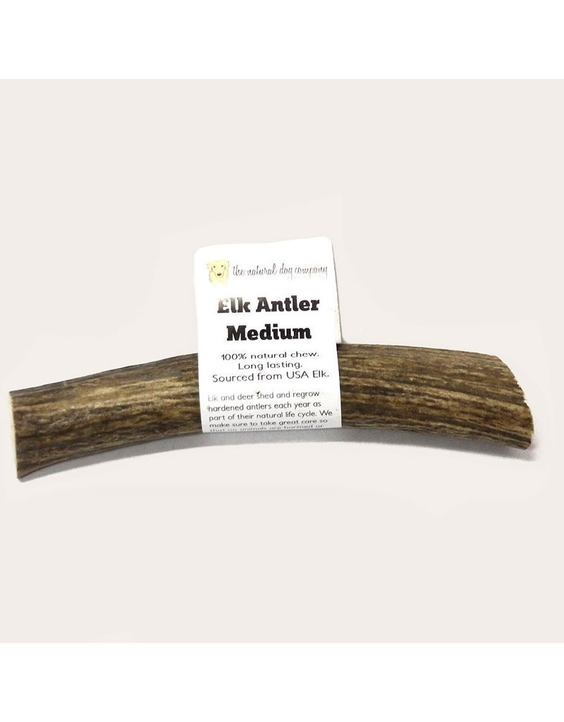 The Natural Dog Company Elk Antler medium