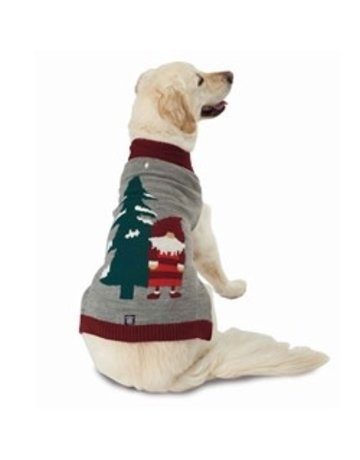 PetRegeous Santa Gnome sweater