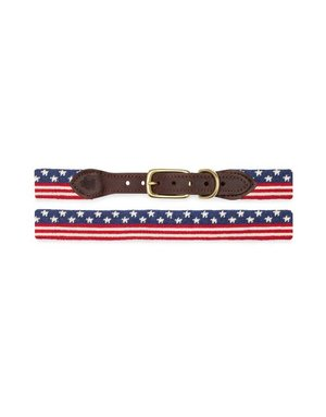 Goodthreads American Flag Needlepoint Collar