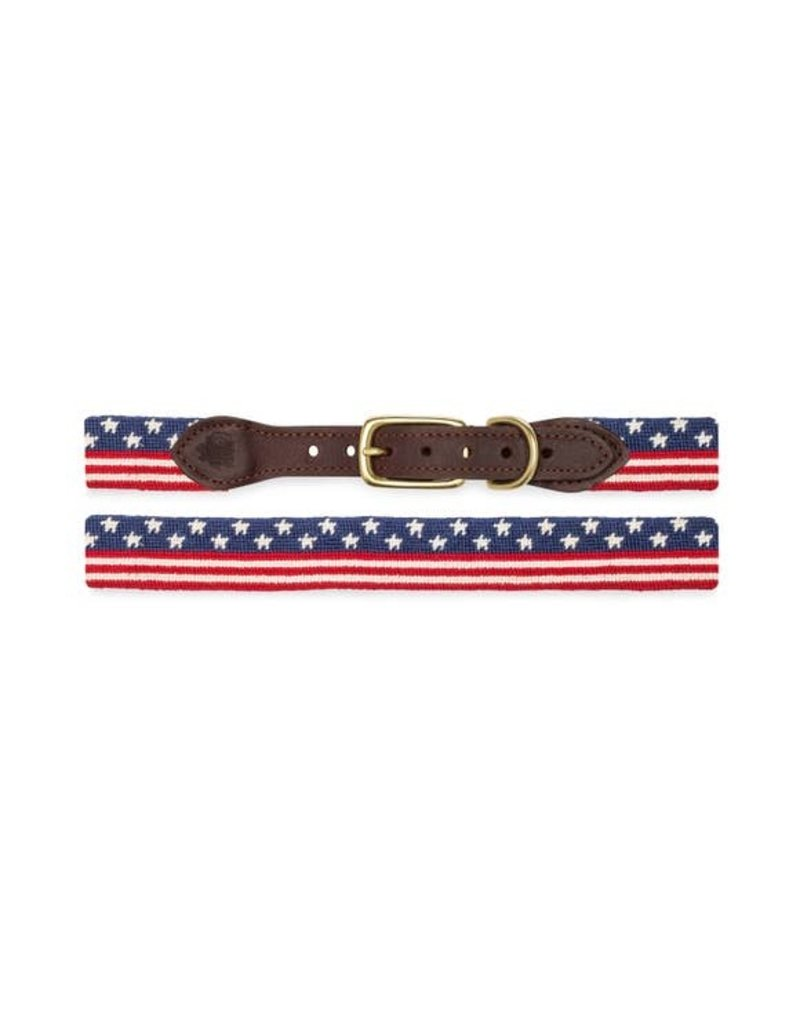 Goodthreads American Flag Needlepoint Collar