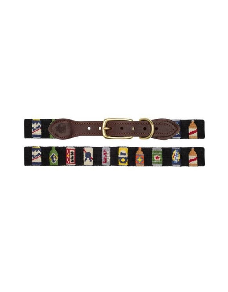 Goodthreads Bottles of Beer Needlepoint collar
