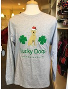 Lucky Dogs Santa long sleeved t-shirt - grey