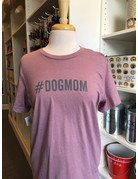 #DOGMOM t-shirt - orchid