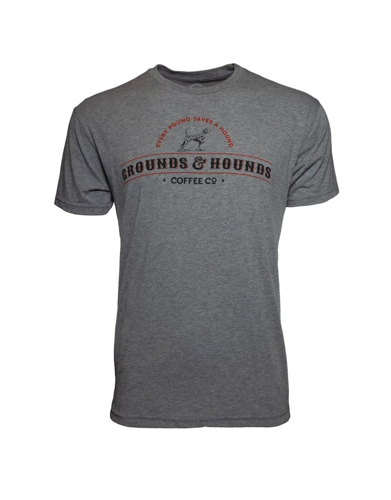Grounds & Hounds Grounds & Hounds Classic Logo t-shirt