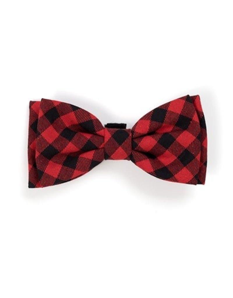 Flannel Buffalo Plaid bow tie
