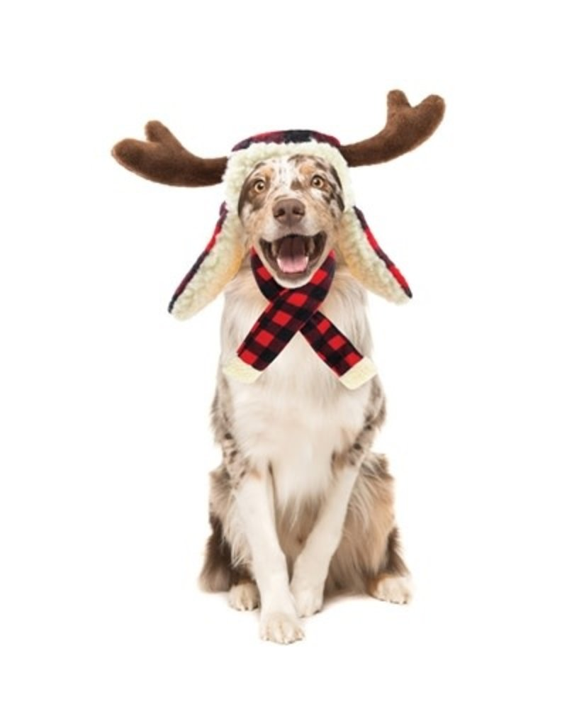 Huxley & Kent Buffalo Check Holiday Hat