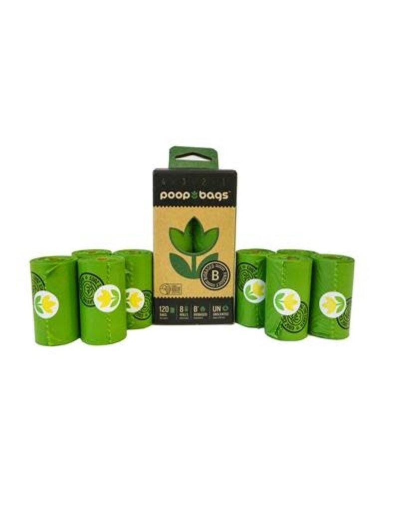 PoopBags.com Poop Bags 120 - unscented (8 rolls)