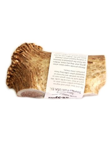The Natural Dog Company Elk Antler Large
