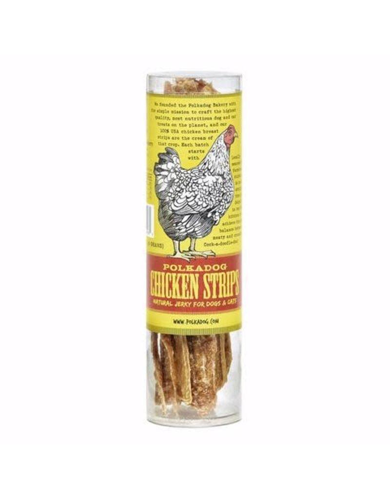 Polkadog Bakery Chicken Strips tube 4oz