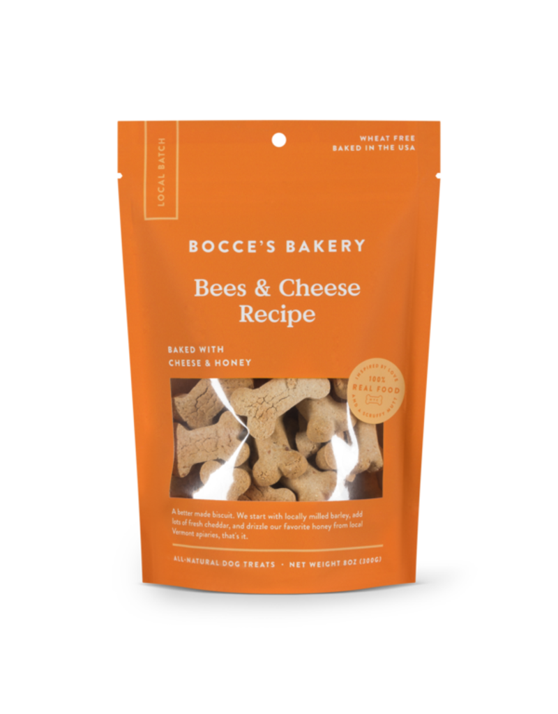 Bocce's Bakery Bocce's Bakery Small Batch biscuits: Bees & Cheese (cheese & honey)