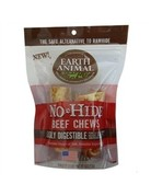 "Earth Animal No-Hide Beef Chews 4"", 2 Pack"