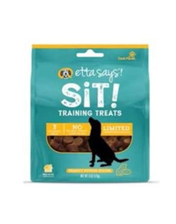 Etta Says! Sit! Training Treats Peanut Butter