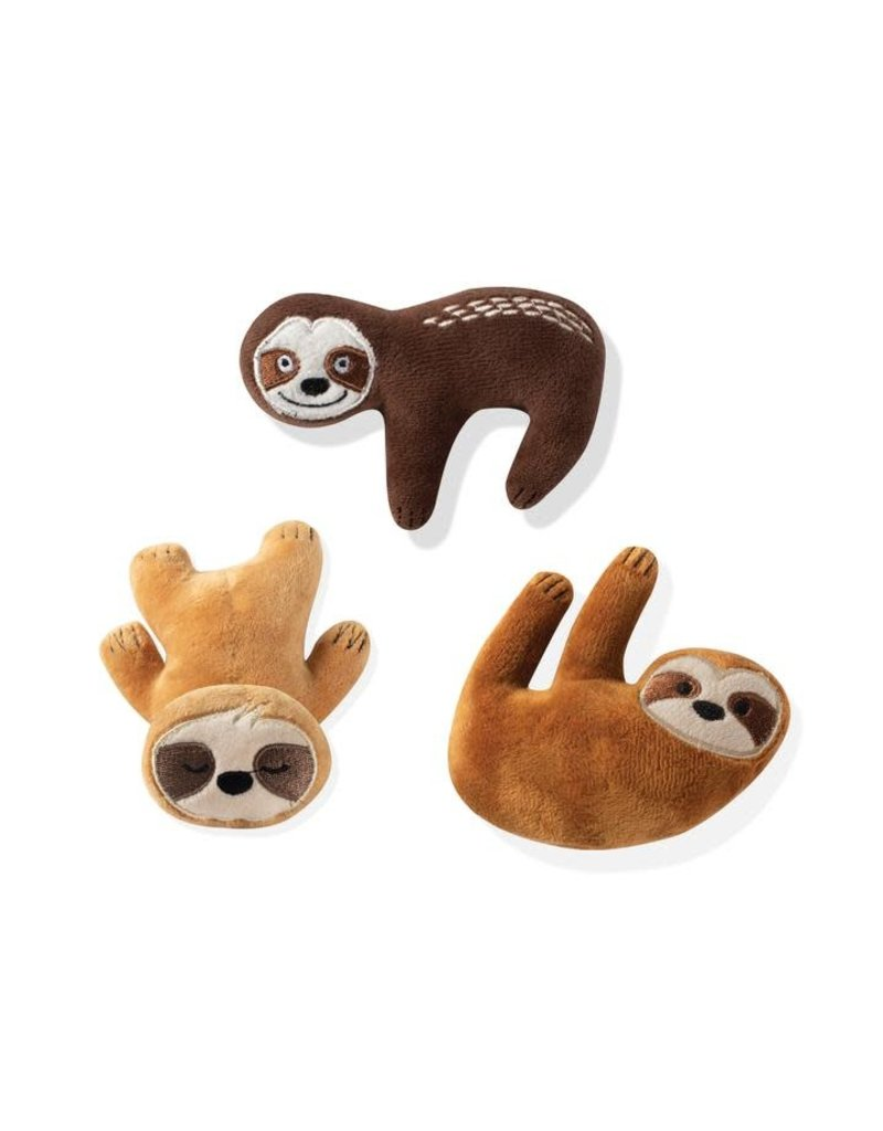Fringe Studio Small Dog Toys: Basic Sloths