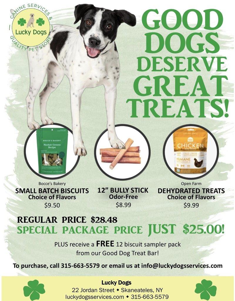 Good Dog Treat kit