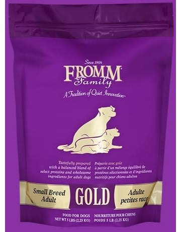 Fromm Fromm Small Breed Adult Gold 5# (pickup or delivery only)