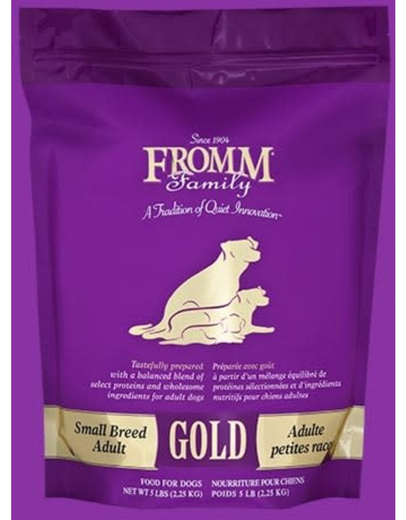 Fromm Fromm Small Breed Adult Gold 5#