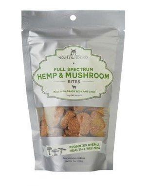 Holistic Hound Full Spectrum Hemp & Mushroom Lamb Bites 3mg